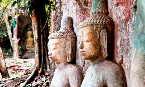 Portfolio, le projet Bouddha