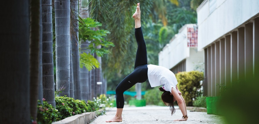 Bien etre yoga heartfulness posture Magazine Heartfulness
