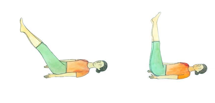 Uttanapadasana posture 2 Magazine Heartfulness