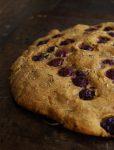 Blog Focaccia aux raisins thym et romarin