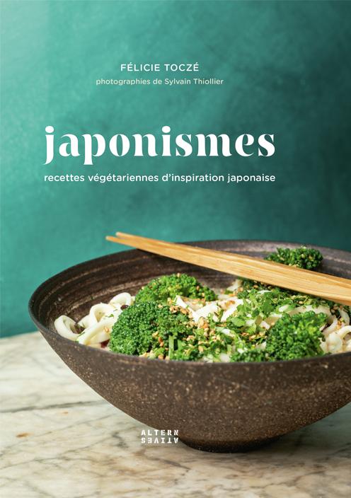 Japonismes, un recueil de recettes végétariennes d'inspiration japonaises